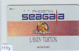 Télécarte Japon * TURTLE  (1998) PHONECARD JAPAN *  * TORTUE *  TELEFONKARTE * SCHILDKRÖTE - Turtles
