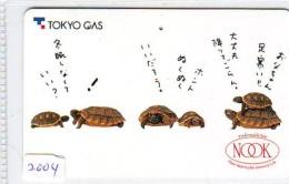 Télécarte Japon * TURTLE  (2004) PHONECARD JAPAN *  * TORTUE *  TELEFONKARTE * SCHILDKRÖTE - Schildpadden