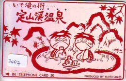 Télécarte Japon * TURTLE  (2007) PHONECARD JAPAN * * TORTUE *  TELEFONKARTE * SCHILDKRÖTE - Turtles