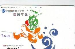 Télécarte Japon * TURTLE  (2010) PHONECARD JAPAN * * TORTUE *  TELEFONKARTE * SCHILDKRÖTE - Turtles