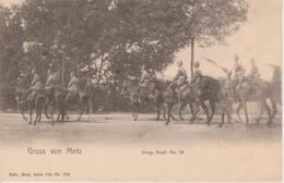 57 - METZ - NELS SERIE 104 N° 233 - DRAGONER REGT N° 13 - Metz