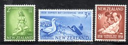XP3100 - NUOVA ZELANDA 1958 ,  Serie Yvert N. 371/373  ***  MNH . - Nuova Zelanda