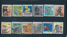 France Timbres  De 1993  N°2836  A  2847  Timbres Oblitérés - Used Stamps