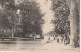 51 - BEAUMONT SUR VESLE - PONT SUR LE CANAL - Other Municipalities