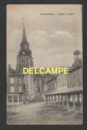 DF / 76 SEINE MARITIME / FOUCARMONT / L' EGLISE ET LA HALLE - Other Municipalities