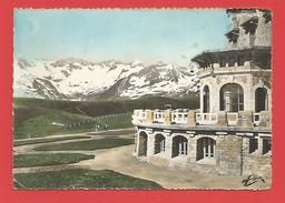"""C.P.S.M. (31)  """" Luchon Superbagnères"""" - Le Sommet De La Vallée Du Lys Et Le Grand Hôtel - + 2 Photos - Superbagneres"""