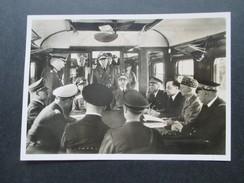 DR Propagandakarte 2. WK Compiegne 1940. Generalfeldmarschall Keitel / Hitler. Der Krieg Im Westen Ist Beendet 25.6.40 - Germany