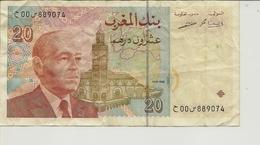 Billet De 20 Dirhams De 1996 - Maroc