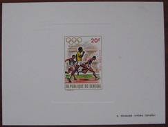 Senegal Jeux Olympique De Munich 1972 Feuillet De Luxe Y&T N°369 MNH ** Cote 30.00 € Depart à 50%