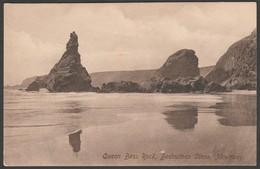 Queen Bess Rock, Bedruthan Steps, Near Newquay, Cornwall, C.1910 - Hartnoll Postcard - Newquay