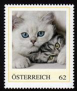 ÖSTERREICH 2012 ** Katzen, Cats - PM Personalized Stamp MNH - Austria