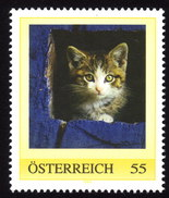 ÖSTERREICH 2008 ** Katze, Cat  - PM Personalized Stamp MNH - Austria