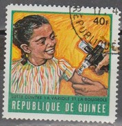 GUINEA 1970 Campaign Against Measles And Smallpox. USADO - USED. - Sellos