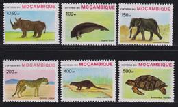 Michel 1209/1214 - Cote 10.00 Euro - XX - Mozambique