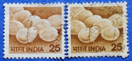 INDIA 2 X 25 1979 EGGS And CHICKS (DIFFERENT COLORS ) - USED