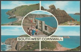 Multiview, South West Cornwall, C.1970s - Salmon Cameracolour Postcard - England