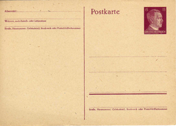 Drittes Reich 1941 Ganzsache Mi P 299 [280517KIV] - Enteros Postales