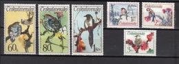 TCHECOSLOVAQUIE Oiseaux  N° 1955 à 1960 Neufs** MNH Cote 8.50€
