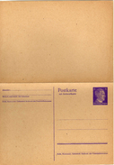 Drittes Reich 1941 Ganzsache Mi P 302 [280517KIV] - Enteros Postales