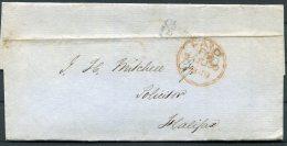 1849 GB PAID London Wrapper - Halifax - Briefe U. Dokumente