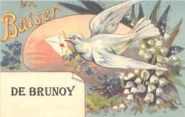 91 - ESSONNE / Fantaisie Moderne - CPM - Format 9 X 14 Cm - BRUNOY - France
