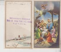 Formia Orfanotrofio Femminile Maria SS. Divina Provv. Calendario 1960 Santino Holy Card  Gg - Formato Piccolo : 1941-60