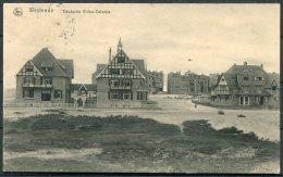 1916 Belgium Germany Westende 'Deutsche Villen Colonie' Postcard Kaiser Deusche Feldpost Marine - Belgium