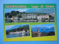 Cadenabbia - Griante Cadenabbia - Como - Vedutine - Panorama - Lago Di Como - Chiesa - Como