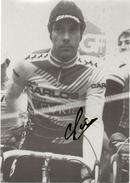 CYCLISME. Carte Postale Dédicacée De Régis CLERE. Collec-Cyclisme 1986 - Cyclisme