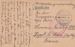 Poste Carte De Allemagne 1917, Scan R/V.