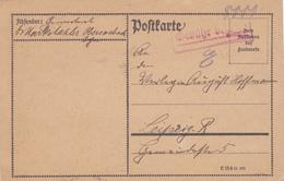 Poste Carte De Allemagne 1923, Scan R/V.