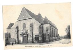 (14659-45) Courtenay - Eglise Saint Pierre Vue De Face - Courtenay