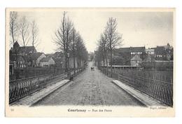 (14660-45) Courtenay - Rue Des Ponts - Courtenay