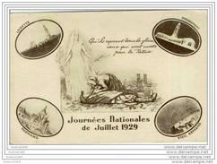 JOURNEES NATIONALES De JUILLET 1929 - Lorette - Douaumont - Dormans - Vieil Armand - Guerra 1914-18
