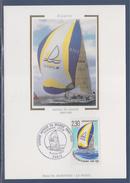 = Course Au Tour Du Monde Voilier La Poste En Course Carte Postale 1er Jour Paris 6.6.90 N°2648 - Maximumkarten