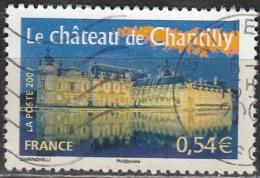 France 2007 Yvert 4018 O Cote (2012) 0.70 Euro Château De Chantilly Cachet Rond - France