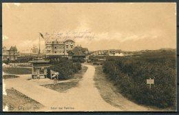 WW1 Belgium Germany  Coq Sur Mer Hotel Postcard K.D. Feldpost Marine Kanonen Matrosen