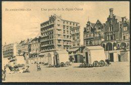 1918 Belgium Germany Blankenberghe Postcard Deutsche Feldpost Marinekorps