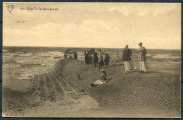 1917 Belgium Germany Sur Le Brise-Lames Postcard K.D. Feldpost Marine
