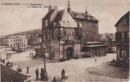 CPA AK Honfleur Lieutenance Hotel Ville A Riviére Saint Sauveur Pennedepie Gonneville Ablon Le Havre Normandie Calvados - Honfleur
