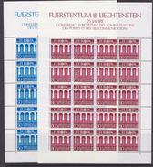 Europa Cept 1984 Liechtenstein 2v 2 Sheetlets ** Mnh (F6395) - Europa-CEPT