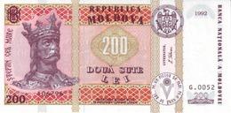 MOLDOVA P.16a 200 L 1992 UNC - Moldova