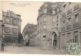 ---- 75 ----  PARIS  -- La Rue Tournefort Cercle Concordia - TB - France
