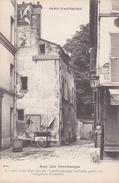 PARIS D'AUTREFOIS            RUE  DES PERCHAMPS . LES PERCHAMPS ( CURIEUSE PETITE RUE VILLAGEOISE D'AUTEUIL) - District 16