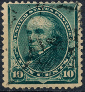 Stam Us 1890 Daniel Webster 10c Used Lot#18