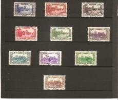 GRAND LIBAN P A  Sites  N° 65*    à    74 Oblitéré - Great Lebanon (1924-1945)
