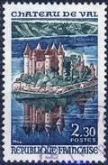 1506 CHATEAU De VAL OBLITERE ANNEE 1966 - Usati