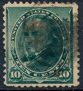 Stam Us 1890 Daniel Webster 10c Used Lot#26 - Used Stamps
