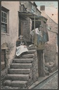 In The Digey, St Ives, Cornwall, 1904 - Valentine Postcard - St.Ives