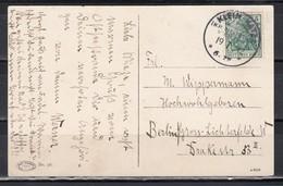 """Dt.Reich Seltener Kreisobersegment-o """"Klein-Katz Kr.Neustadt Westpr./19.7.12"""" Auf Ak. Zoppot EF 85I"""